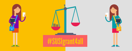 Support Equal Access to SUSI funding