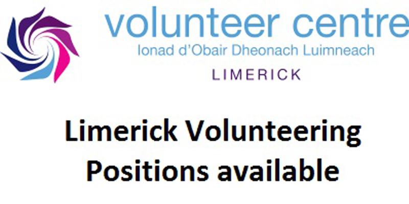 New Volunteering Opportunities in Limerick