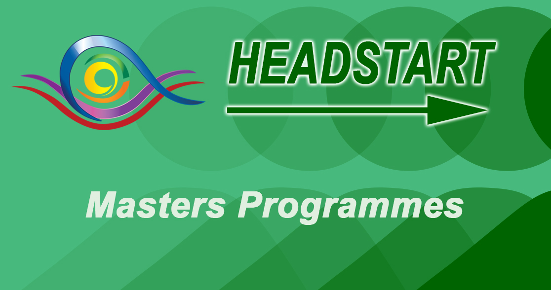 Headstart for Masters Programmes January 2018