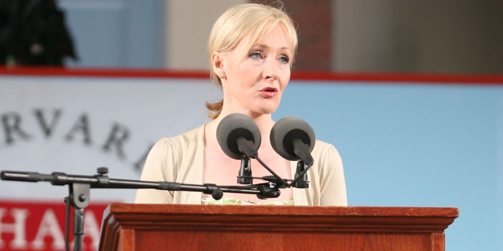 Benefits of Failure - Speech by J. K. Rowling, Author of Harry Potter