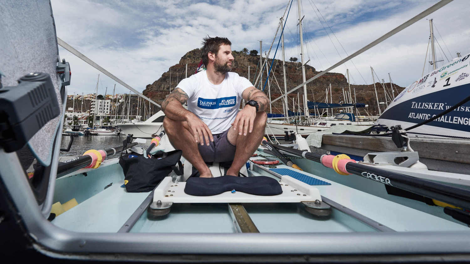 Ex-heroin addict: World's toughest rowing race is 'just for fun'