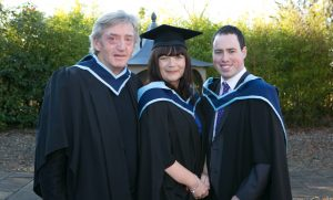 Pictured at the ICHAS Graduations held in the Castletroy Park Hotel Limerick were: Paul O'Brien, Limerick, Maria Fogerty, M.A. in Leadership & Management in Professional Practice, Limerick & Tony O'Brien, M.A. in Leadership & Management in Professional Practice Limerick Picture Credit Brian Gavin Press 22