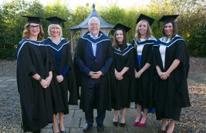 Pictured at the ICHAS Graduations held in the Castletroy Park Hotel Limerick were: Catriona Gavin, M.A Masters in Counselling and Psychotherapy, Jacqueline O'Dowd, M.A in Cognitive and Behavioural Therapy, Paul Kennedy, M.A in Cognitive and Behavioural Therapy, Maria Benito, M.A in Counselling and Psychotherapy 2015, Lindsay Wallace,M.A in Counselling and Psychotherapy 2015 & Ellis McGrath, M.A in Counselling and Psychotherapy 2015 all from Dublin Picture Credit Brian Gavin Press 22