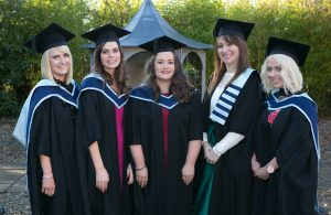 Pictured at the ICHAS Graduations held in the Castletroy Park Hotel Limerick were: Ann Fitzgerald, M.A. in Cognitive and Behavioural Therapy, Niamh Lynch, M.A in Counselling and Psychotherapy 2015, Sinead Russell,M.A in Counselling and Psychotherapy 2015, Katrina Dennehy, M.A in Clinical Supervision in Professional Practice 2015 & Noreen Twomey,M.A Masters in Counselling and Psychotherapy. All Graduates are from Cork Picture Credit Brian Gavin Press 22