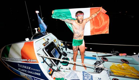 avan Hennigan, The former heroin addict who 'came back from the brink' to smash world record