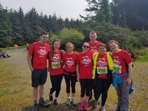 Team ICHAS at the Dublin Mountains Challenge 2018