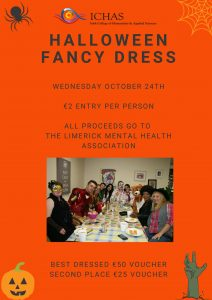 Halloween Fancy Dress Posters ICHAS