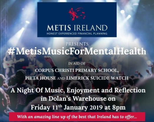 #MetisMusicForMentalHealth, Fantastic Night of Music and for a Terrific Cause