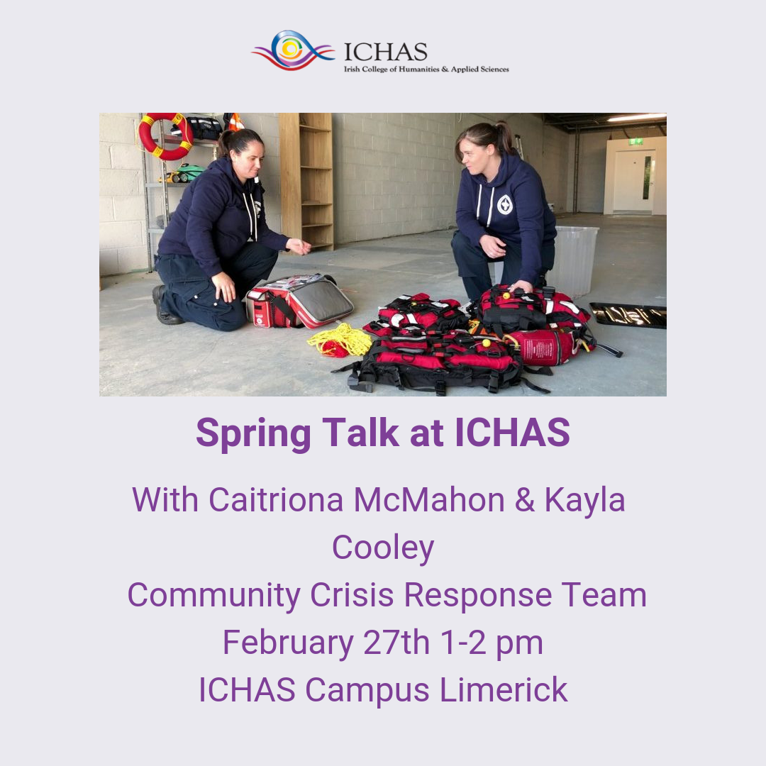 Spring Talk at ICHAS Featuring CCRT Limerick