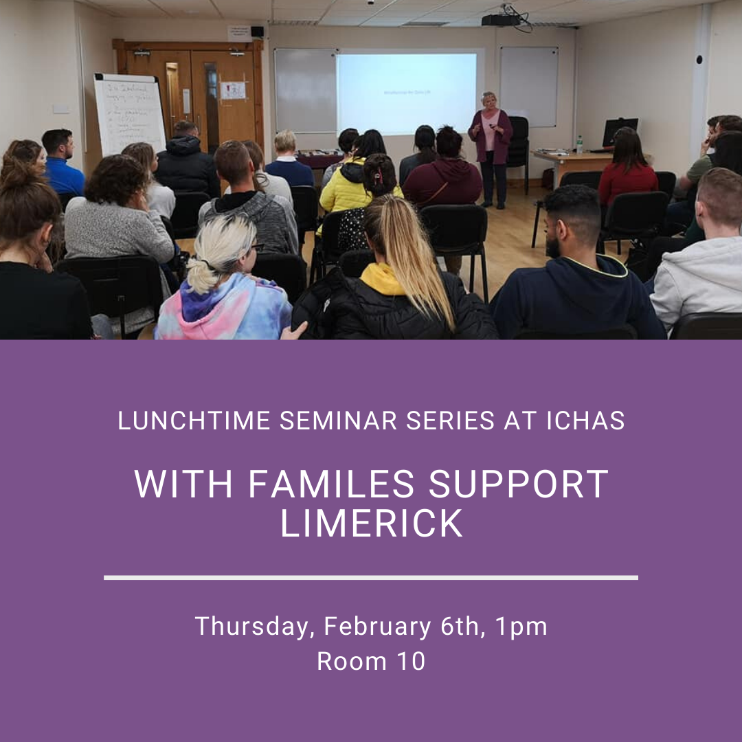 Lunchtime Seminar Series With FAMILES Support Limerick