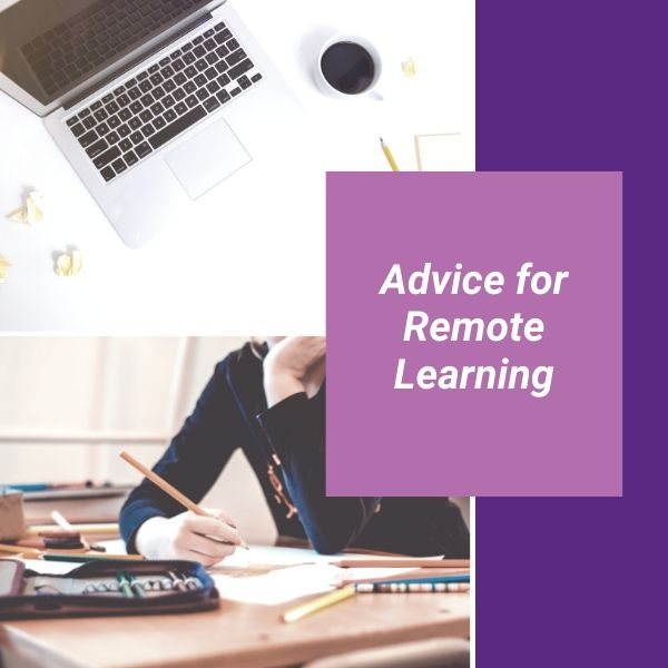 Advice from Staff at ICHAS when it comes to Remote Learning