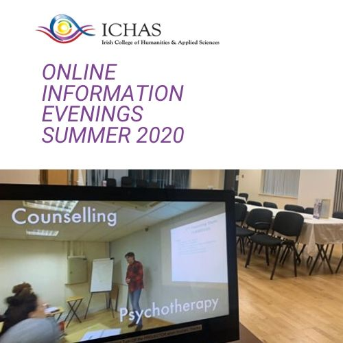ICHAS Open Days Moved to Online Information Evenings